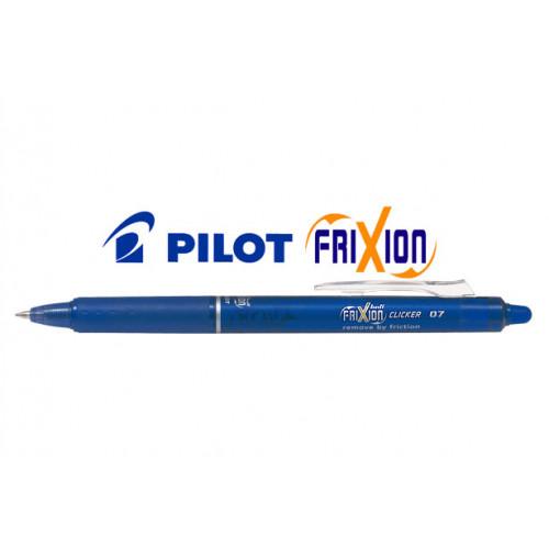 Penna FriXion clicker 0.7 blu 12 pezzi Pilot