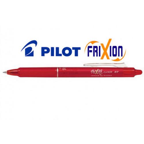 Penna FriXion Clicker 0.7 rossa 12 pezzi Pilot