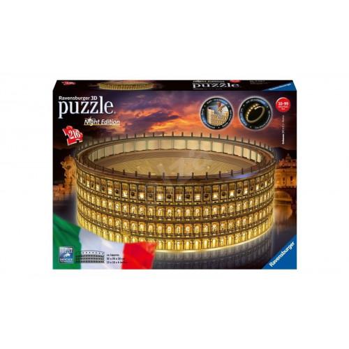 Puzzle 3D Colosseo Illuminato