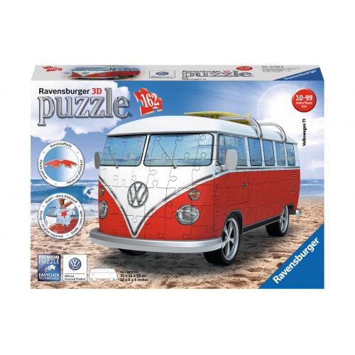 Puzzle 3D Pulmino Volkswagen 162 pezzi Ravensburger