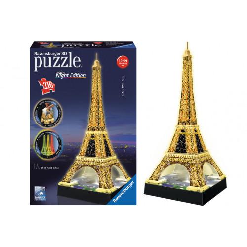 Puzzle 3D Tour Eiffel luminoso 216 pezzi Ravensburger