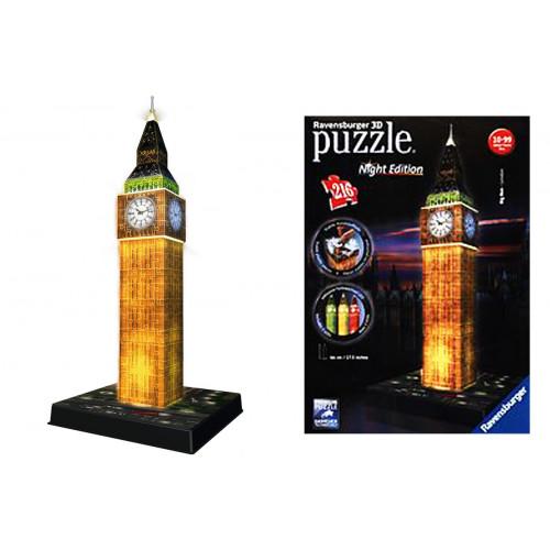 Puzzle 3D Big Ben luminoso 216 pezzi Ravensburger