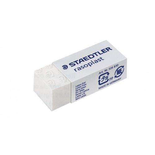 Gomma rasoplast 526b30 bianca 30pz