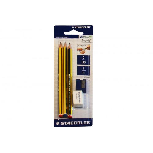 Matita noris set 3 matite+temp.+gomma