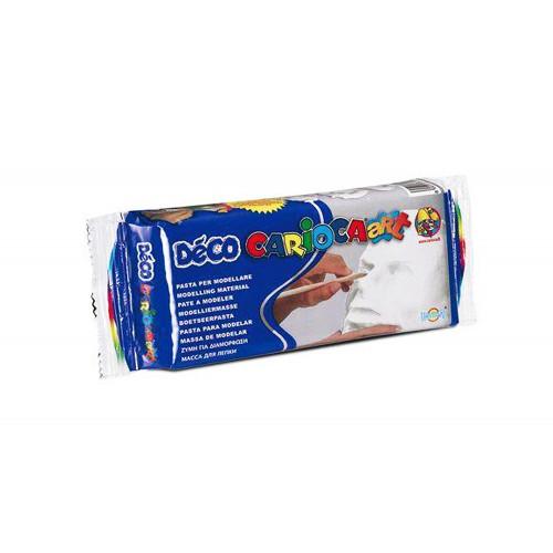 Deco' Pasta da modellare bianca 500 gr Carioca