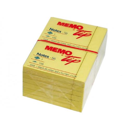 Post-it memo 76x51 giallo cf.12
