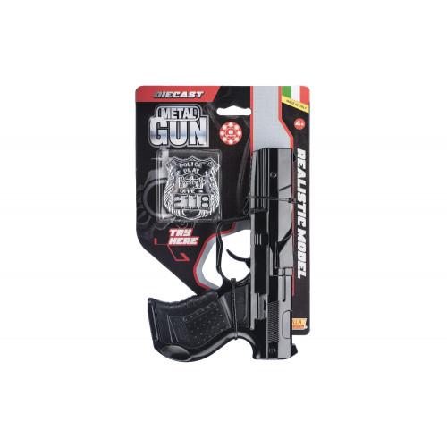 Pistola giocattolo della Polizia 8 colpi