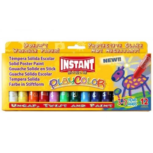 Tempera solida playcolor 12 colori ass.