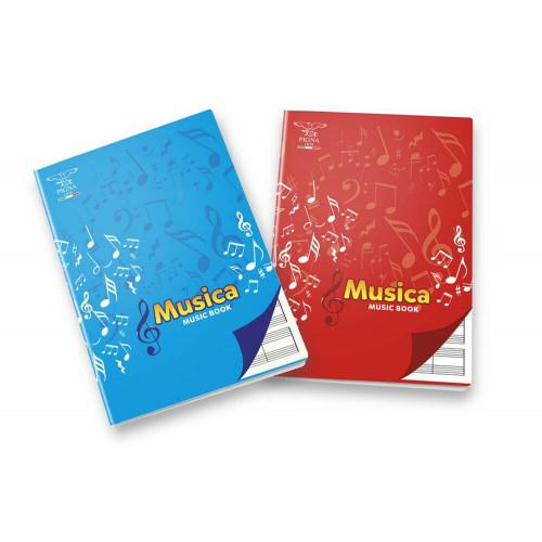 Maxi musica a4 32fg 100gr cf.10 pz