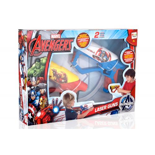 Avengers Coppia Pistole Laser luci e suoni