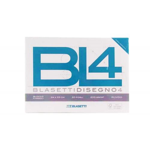 Blocco BL4 24x33 220gr 20fg ruvido