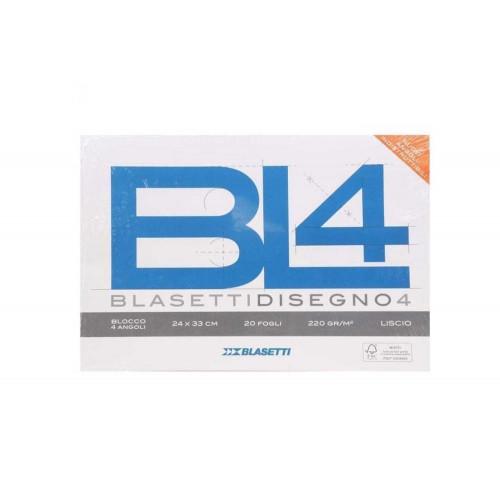 Blocco BL4 24x33 220g 20fg liscio