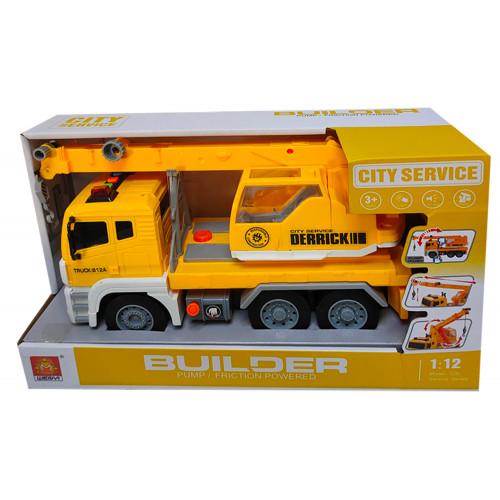 City Service Camion Pompa luci e suoni