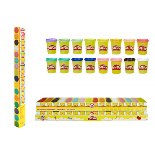 Play- Doh Maga Meter 16 barattoli