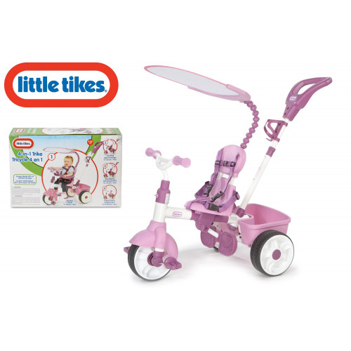 Little Tikes Triciclo 4 in 1 Rosa