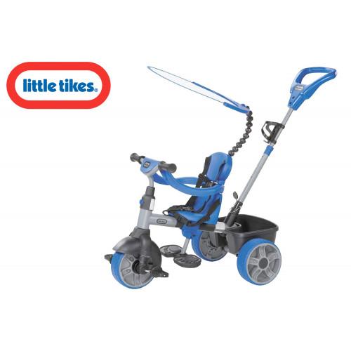 Little Tikes Triciclo 4 in 1 azzurro