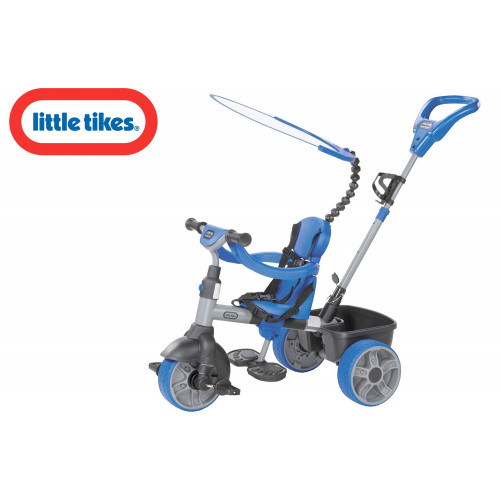 LT Triciclo 4 in 1 azzurro