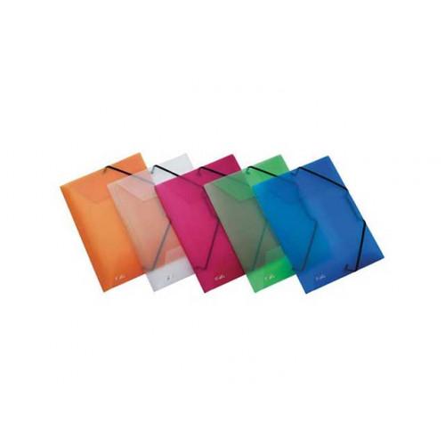 Cartellina con elastico d.3 ppl lumia 24x33