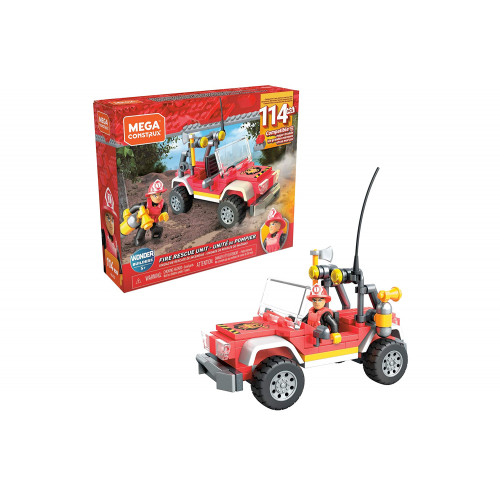 Mega Bloks Auto Pompieri 114 pezzi