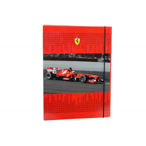 Cartellina con Elastico Ferrari