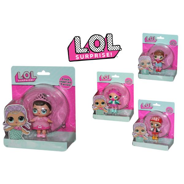 Lol Surprise Bambola Singola Sfera Trasparente
