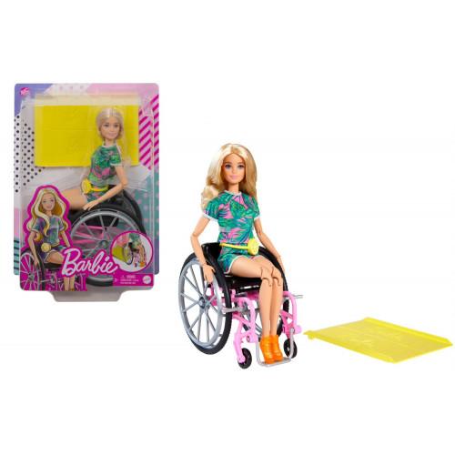 Barbie Fashionistas Con Sedia A Rotelle