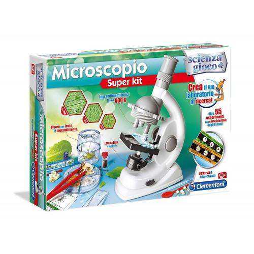 Microscopio Super Kit ScienzaeGioco