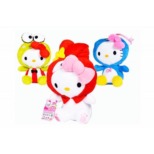 Hello Kitty Peluche 32 cm Mascherati