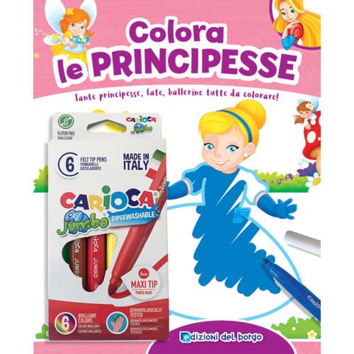 Libro Colora le Principesse