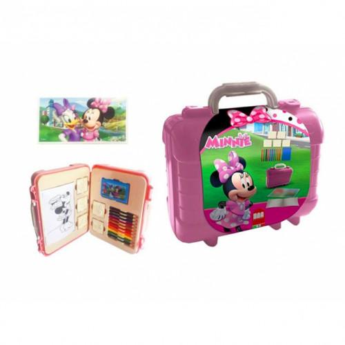 Travel Set Timbri e colori Minnie