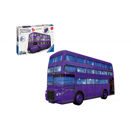 Puzzle 3D London Bus Harry Potter