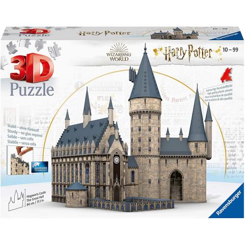 Puzzle 3D Castello Harry Potter