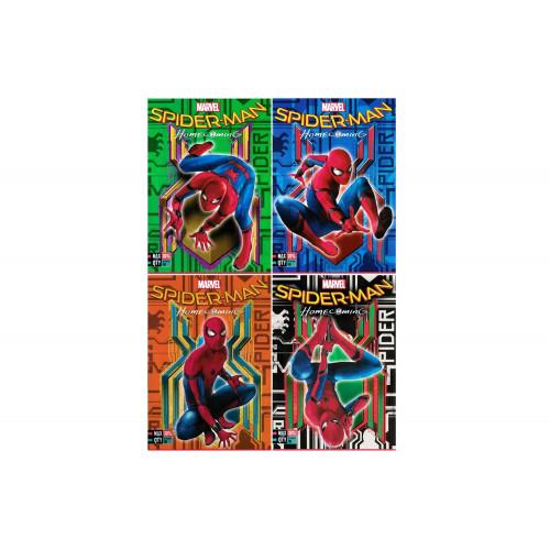 Maxi quaderni Spiderman Homecom.dark rig. C cf.10