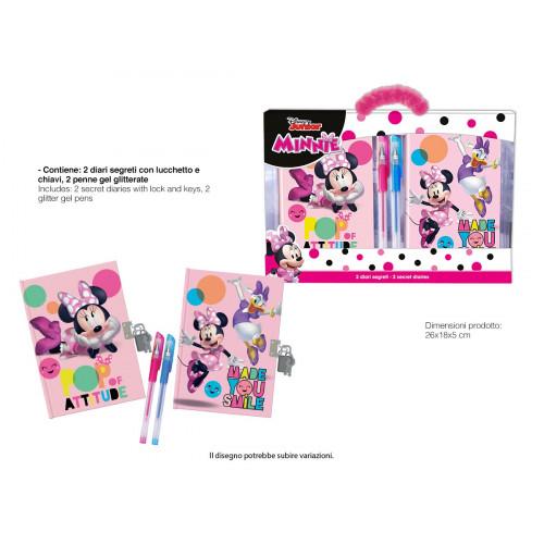 Minnie Set diari e penne