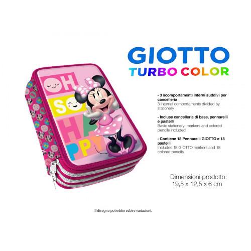 Minnie Astuccio 3 zip Giotto