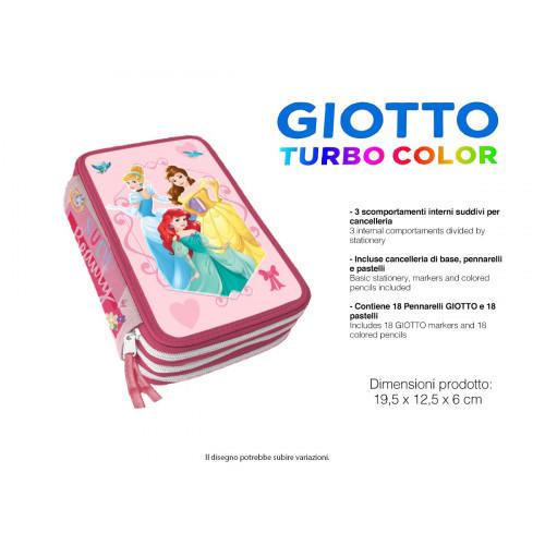 Principesse Astuccio 3 zip Giotto
