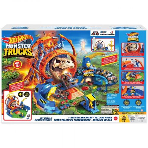 Hot Wheels Monster Trucks Arena del Vulcano
