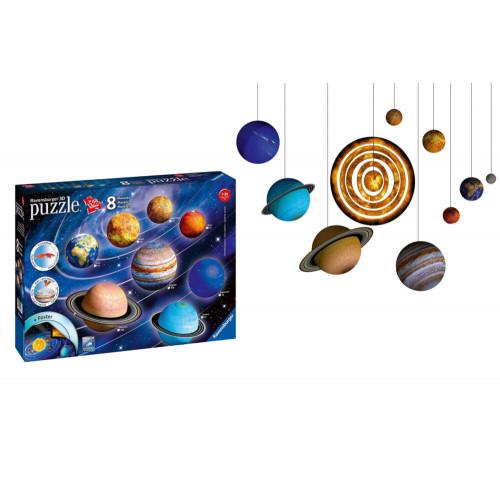 Puzzle 3D Il Sistema Planetario