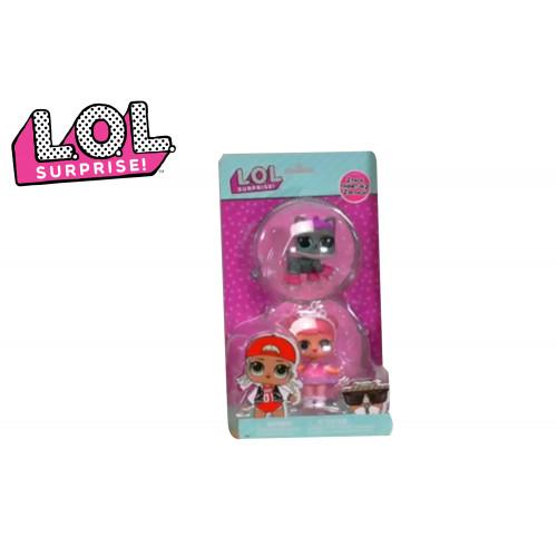Lol Surprise Bambola e Pet Sfera Trasp.