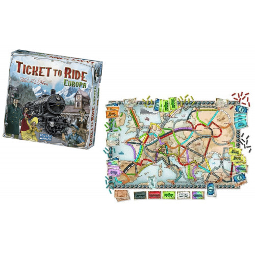 Ticket to Ride Europa