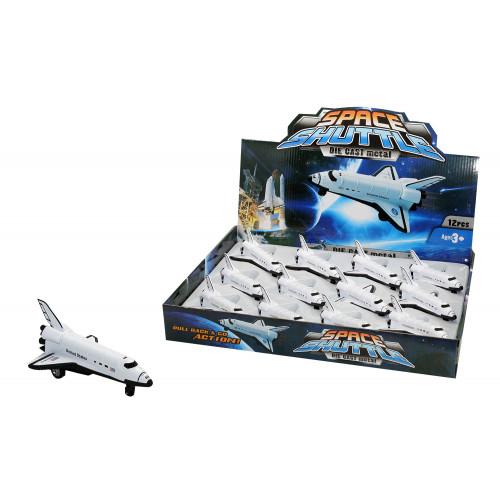Shuttle Retrocarica Metallo Expo 12 pz
