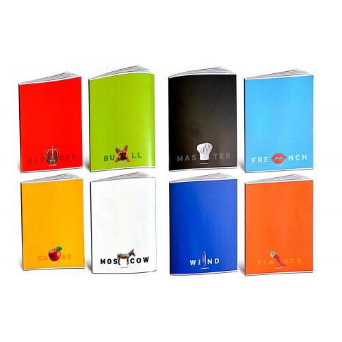 Maxi quaderno 80gr wordscolor rig.5m cf.10